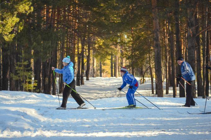 Distanču slēpošanas iespējas Skrīveros